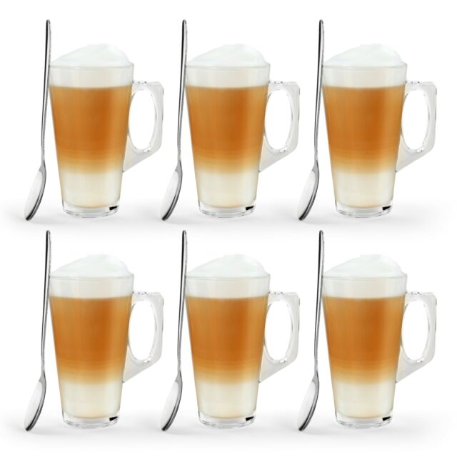 99992 X 180ml Glasses Glass Cups Mugs For Coffee Tea Latte Cappucino For Sale Ebay