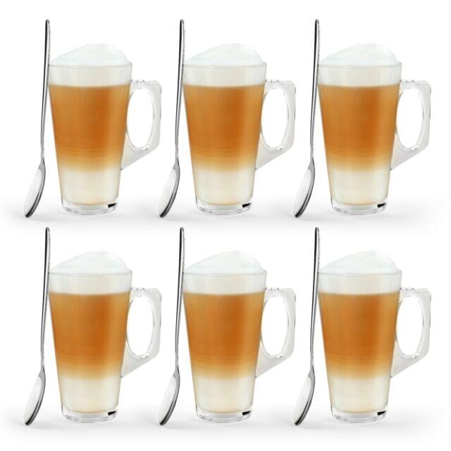 99992 X 180ml Glasses Glass Cups Mugs For Coffee Tea Latte Cappucino For Sale Ebay