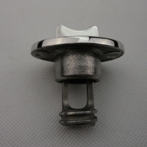 1PC Oval Garboard Drain Plug Stainless Steel Boat For 1/'/' Hole Thread for 3//4/'/'