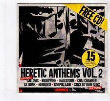 (GL96) Various Artists, Heretic Anthems Vol. 2 - 2015 Metal Hammer Magazine CD