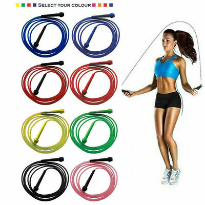 Speed Skipping Rope Jumping Boxing Exercise Crossfit Fitness Gym Girls Workout