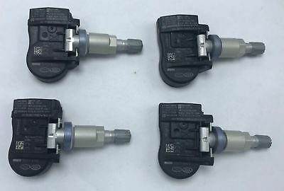 TPMS 315MHz Fits for Hyundai Kia Set of 4 52933-2M000 Original Equipment Programmed Tire Pressure Monitoring Sensor