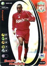 FOOTBALL CHAMPIONS 2001-02 Emile Heskey 159/250 Liverpool F.C. FOIL