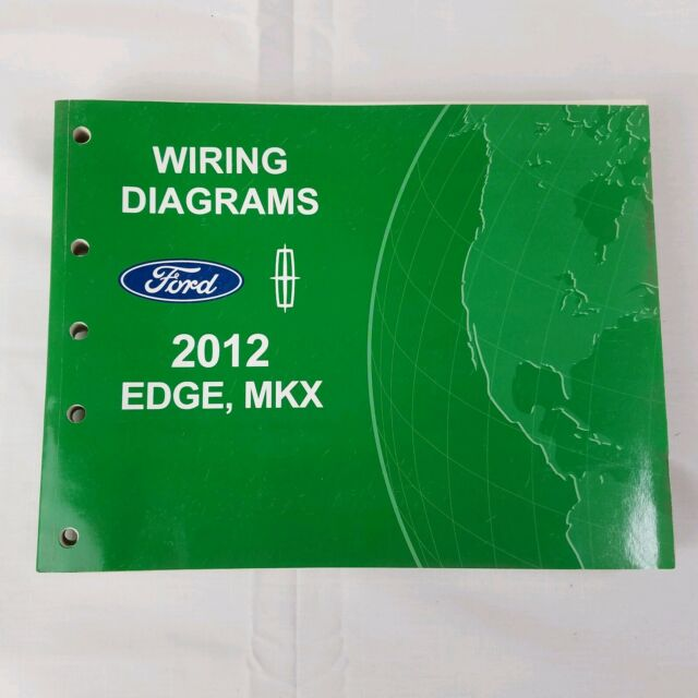 2012 Ford Edge Lincoln Mkx Electrical Wiring Diagram