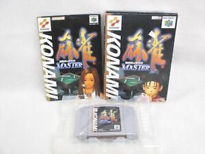 MAHJONG-MASTER-Item-ref-C-Nintendo-64-Import-Japan-Video-Game-n6
