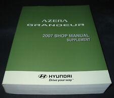 Werkstatthandbuch Shop Manual Hyundai Azera Grandeur ab Baujahr 2007
