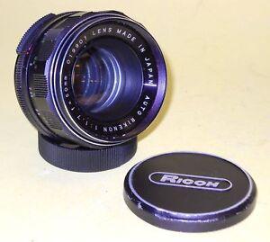Ricoh-AUTO-RIKENON-50mm-1-7-in-very-good-condition