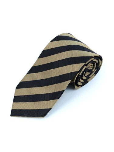 College Striped Colored Woven Tie Collection
