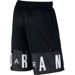 10407be82de Nike Air Jordan Blockout Short 831338-010 Black Elephant Print Retro ...