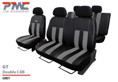 ALICAN TAILORED SEAT COVERS Vauxhall Vivaro Sportive Crew Cab 14-18 ECO LEATHER