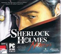 Sherlock Holmes: Nemesis (pc, 2008, The Adventure Company, Sealed New)