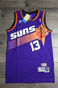 online store ceb40 d7955 Details about Steve Nash #13 Phoenix Suns Purple Jersey Throwback Vintage  Classic Retro Rookie