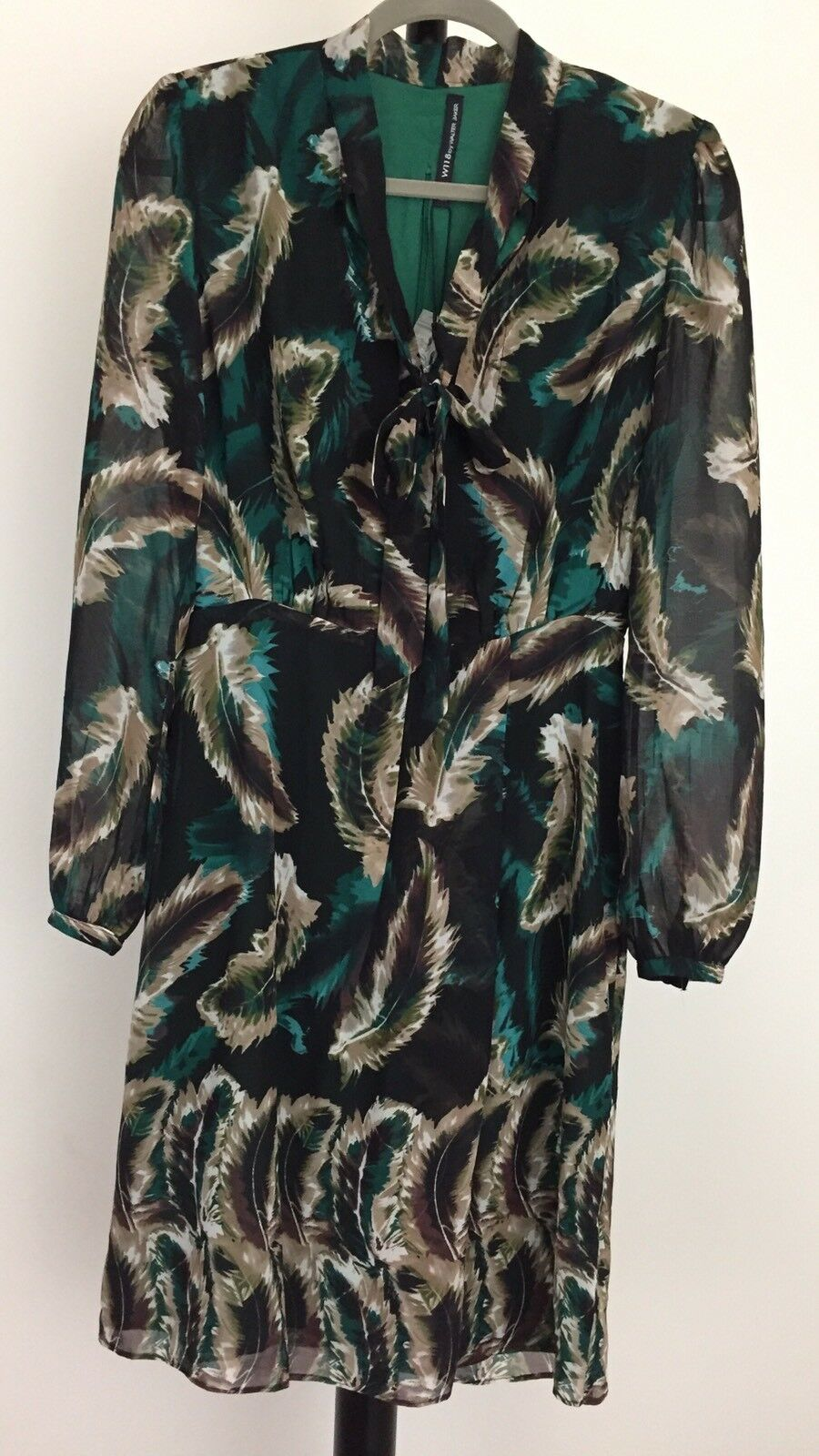 New W118 by Walter Baker size S lined  Lucy  dress NWT  168
