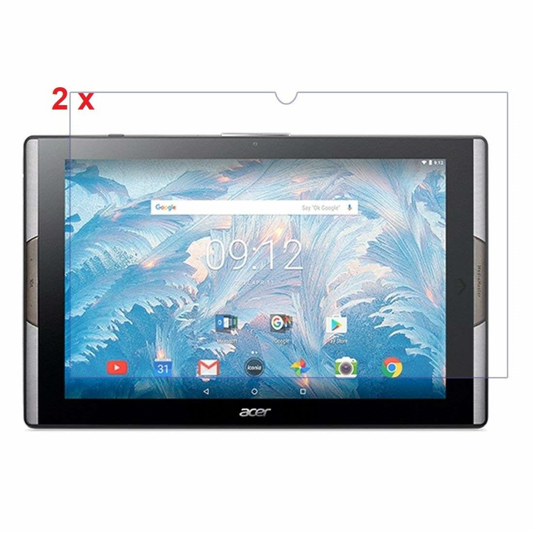 """3 Pack Clear Tablet Screen Protector Guard For 10.1/"""" Acer Iconia Tab 10 A3-A40"""