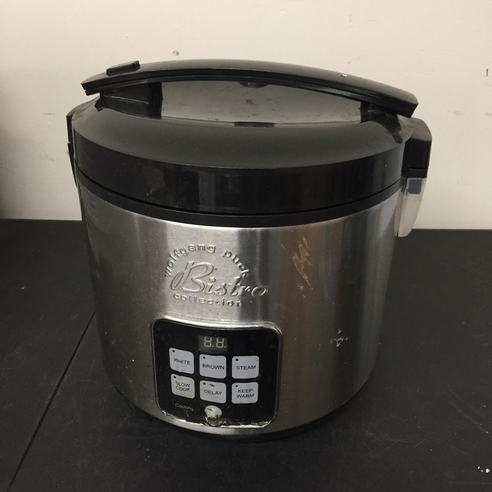 Wolfgang Puck Bistro Collection Bdrcrd010 10 Cup Rice Slow Cooker Stainless For Sale Online Ebay