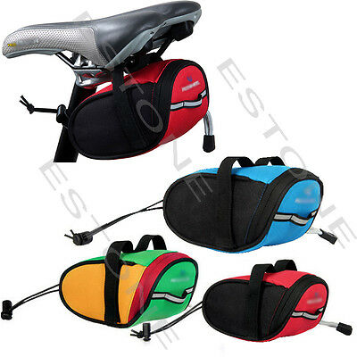 Portable Waterproof Cycling Bike Bicycle Saddle Pouch Back Rear Seat Bag Outdoor
