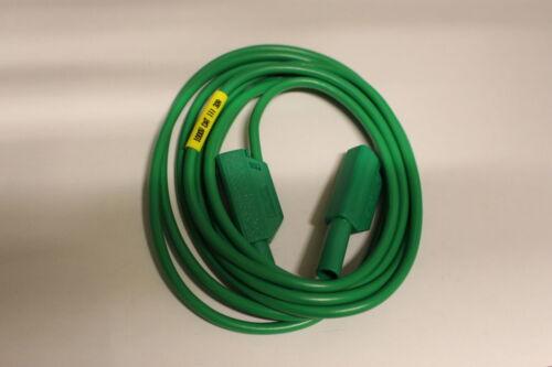 grün CAT3 1000V 32A. MC  Sicherherheits Mess Leitung 2mtr