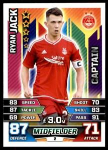 #008 Ryan Jack Match Attax 2012//13 SPL Scottish Premier League