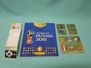 Panini-WM-2018-Russia-World-Cup-50-Sticker-aussuchen-Russland