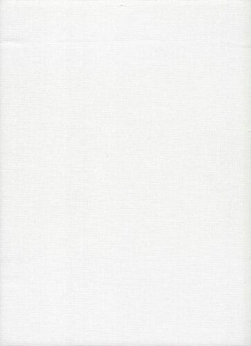 25 count Evenweave DMC Blanco Antiguo cross stitch tela tamaño 49 X 78cms