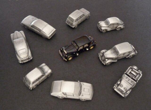 Lot 10 miniatures à peindre échelle N 1:160, modèles au choix