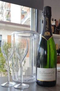 Vino-Francese-Champagne-Carte-Blanche-Glacette-n-2-Bicchieri