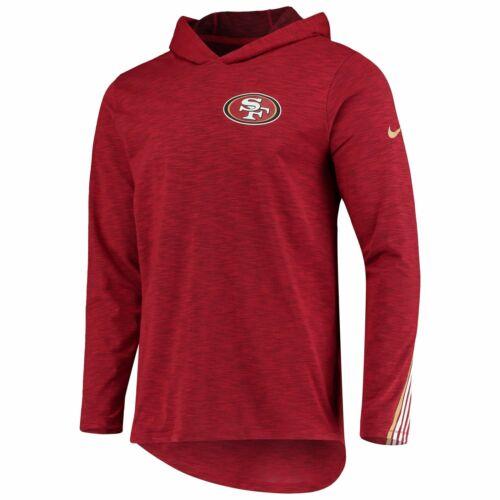 Nike NFL San Francisco 49ers Sideline Scrimmage Performance T-Shirt Hood