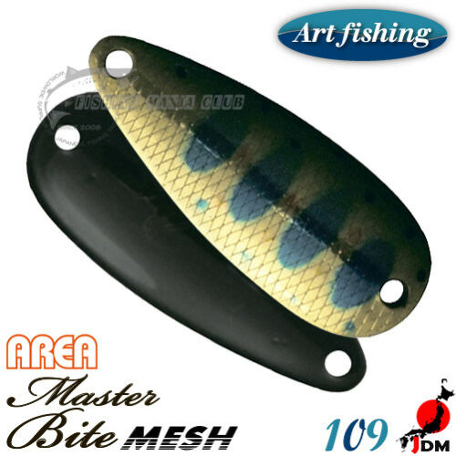Art Fishing Master Area 2.5 g Trout spoon Assorted Colors