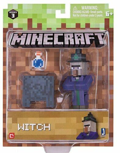 Minecraft-STREGA Action figure con accessori-NUOVO