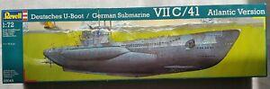 Revell German Submarine VII C/41 Atlantic Version 1/72