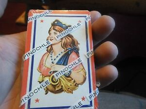 Vintage Pack of Sealed Pinochle RARE!!