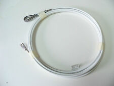 2 HOBIE CAT 16 SHROUD WIRES WHITE #2-259411 1971 to 1994 NEW