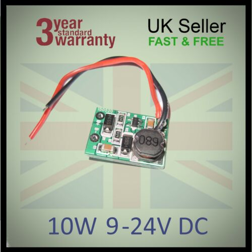 10W 12V DC LED Chip Driver grow Aquarium Car Battery DIY Constant Current 900mA