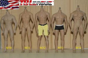 Phicen Tbleague 1/6 corps de squelette en acier sans soudure musculaire de corps masculin
