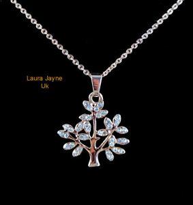 Genuine Venetti Silver colour Tree of Life Pendant