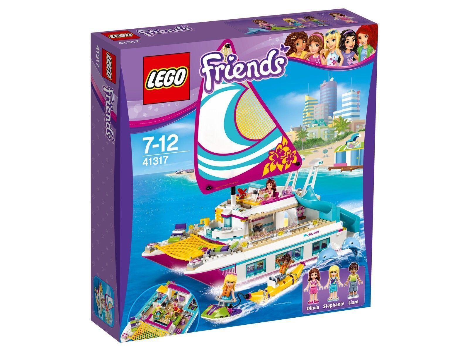 LEGO Friends Soleil-Catamaran 41317, NEUF