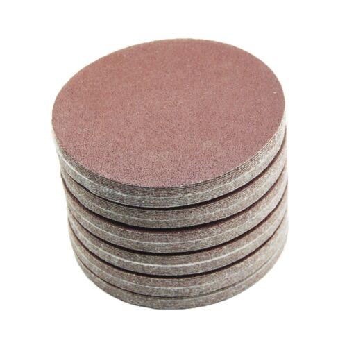 90 mm Meules 80-800 meule ponceuse papier abrasif velcro détention rouge 20 pièces