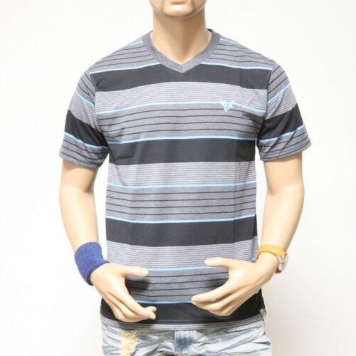 NWT Men/'s V-Neck Short Sleeve Tee T-shirts Stripes Design S M L XL