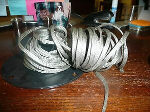 Allied Wire AA59569R36T0203 11Awg 13/64 in Tubular braid Approx 42FT ...