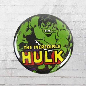 Herren-accessoires Logoshirt Comic Anstecker Hulk Marvel Button Anstecknadel Pin Wohltuend FüR Das Sperma Sonstige