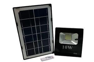 Faro-led-10W-con-pannello-solare-luce-fredda-faretto-slim-esterno-casa-giardino