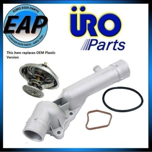 For 97-98 528I E39 2.8L Thermostat Housing Cover w// Thermostat and Gaskets NEW