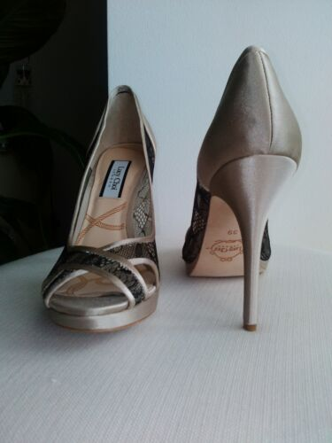 39 Neu Sandals 230€ Nude Choi Lucy Np Gr Highheels Lace Abendschuhe De up Beige TTq6UHw