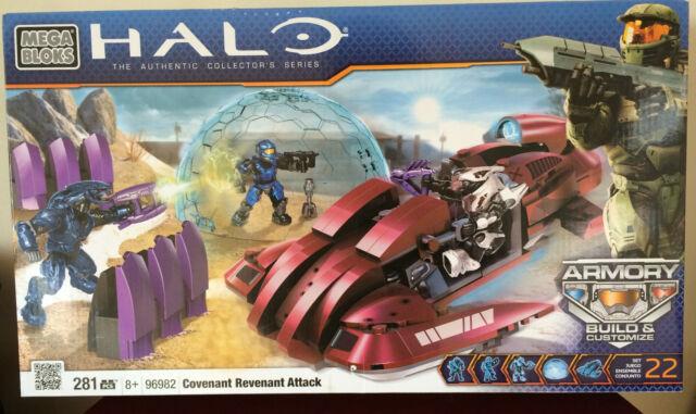 Halo Mega Bloks Set 96982 Covenant Revenant Attack