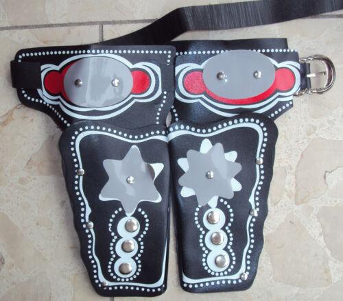 Cintura Cowboy 2 fondina pistola CARNEVALE CINTURA pistole Colt