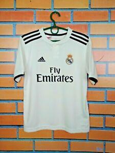 Real-Madrid-Jersey-2018-2019-Home-Kids-Boys-11-12-y-Shirt-Adidas-CG0554
