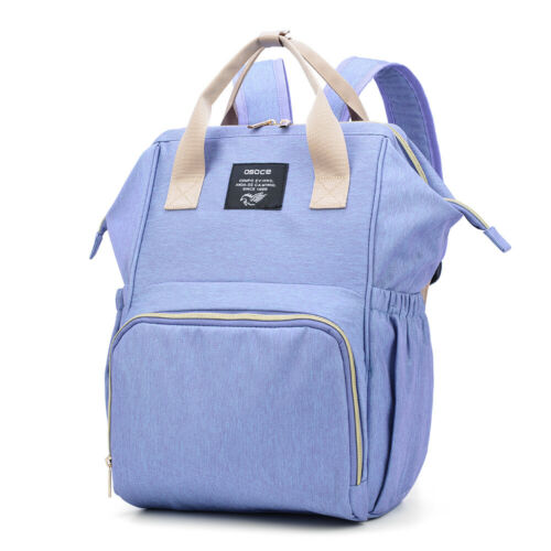 OSOCE Unisex Water-Repellent Polyester Large Mommy Daddy Backpack Baby A4D1