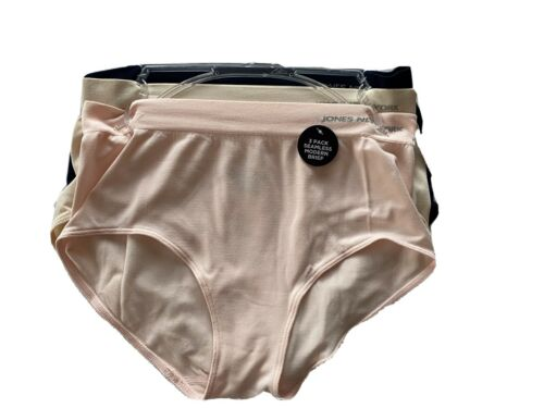 Women 3 Pack Seamless Modern Brief Multi Color Details about  /Jones New York Size M 6