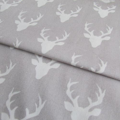 Buck bosque galería de arte 100/% Cotton Quilting /& Patchwork Tela Stag//corzos 1//2m