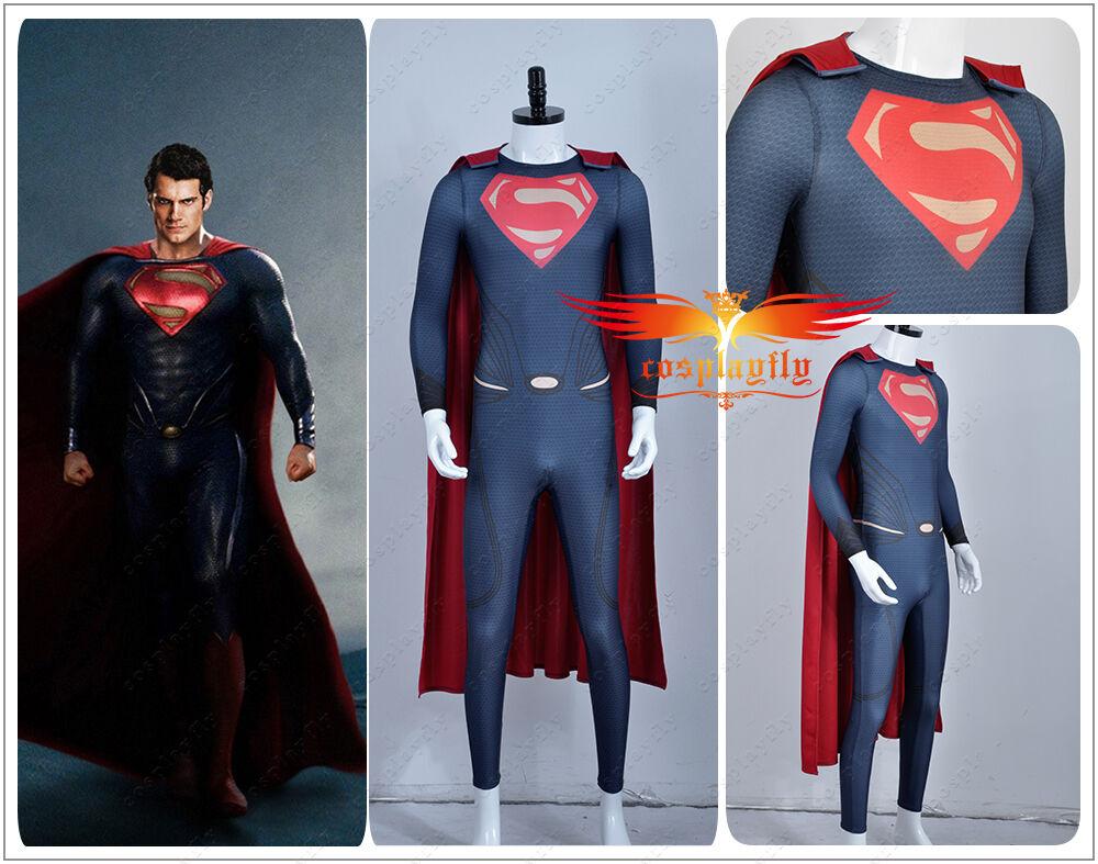 New Batman v Superman Dawn of Justice Cark Kent Tights Superman Cosplay Costume